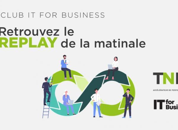 Replay | Matinale TNP & IT4B : développer vos capacités agiles avec l'automatisation