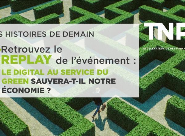 Replay   HDD Digital : Le digital au service du green sauvera-t-il notre économie ?