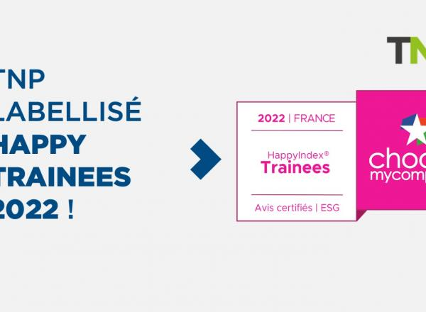 TNP labellisé Happy Trainees 2022