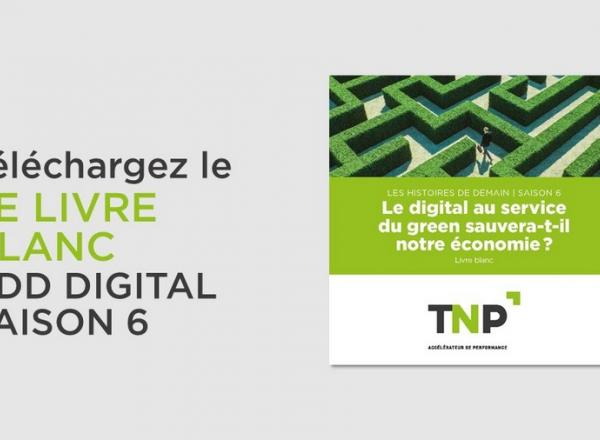 Le digital au service du green sauvera-t-il notre économie?   Livre blanc